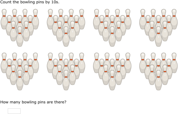 IXL - Skip-counting (3rd grade math practice)