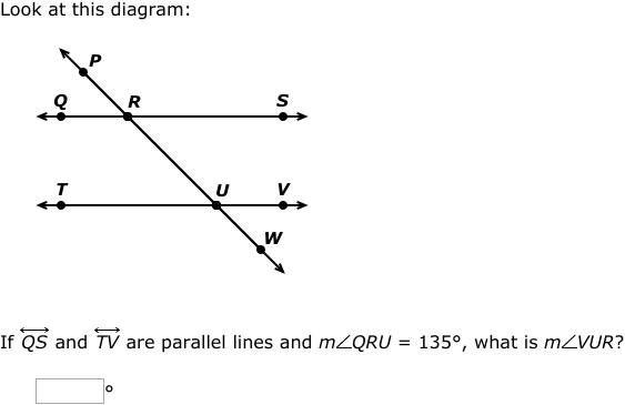 IXL - Transversals of parallel lines: find angle measures