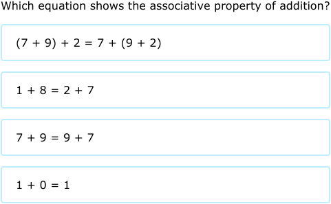 IXL | Properties of addition | 6th grade math