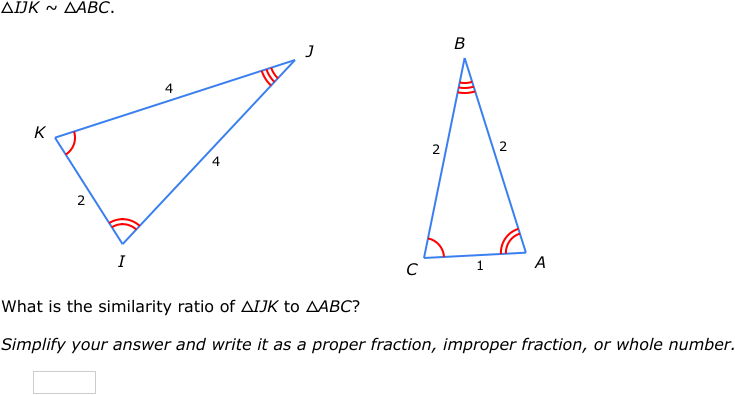 Ixl Similarity Statements Geometry Practice