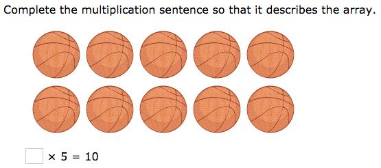 Multiplication Arrays 3rd Grade - 3rd grade multiplication word ...