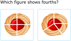 ixl match fractions to models halves thirds and fourths 3rd