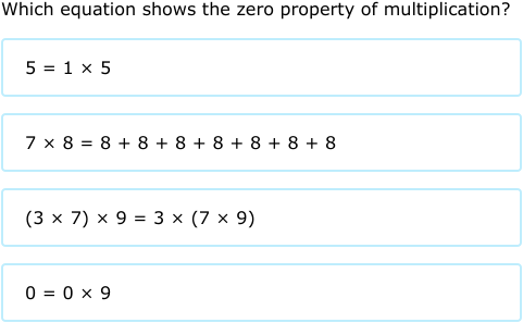 Ixl Properties Of Addition And Multiplication Algebra 1 Practice